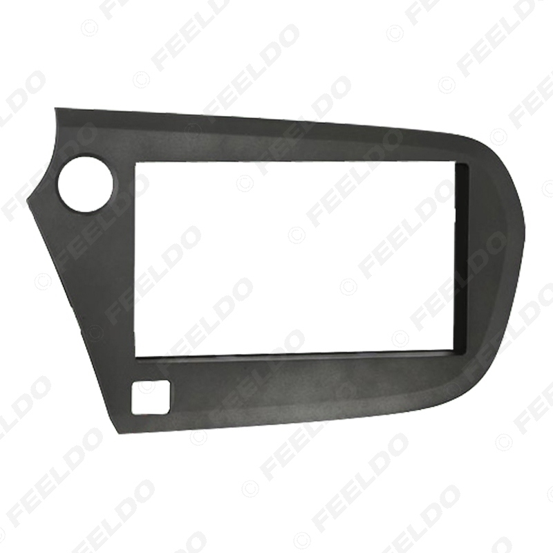 Picture of 2Din Auto Stereo Radio Panel Fascia Frame Adapter For Honda Insight LHD Dashboard Frame Installation Trim Kit