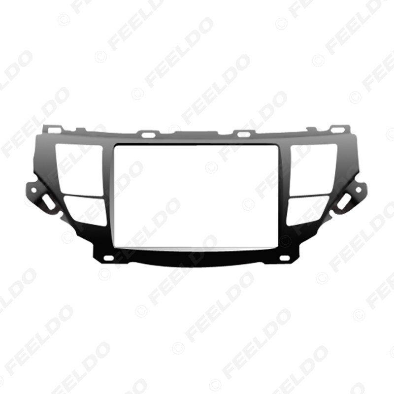 Picture of 2Din Car Stereo Radio Fascia Frame Adaptor for Crosstour Accord DVD Dash Mount Panel Frame Installation Trim Kit