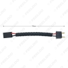 Picture of Automotive LED HID Headlight Cable H7 Male To Female Connector Plug Lamp Bulb Socket Wiring Adapter Holder