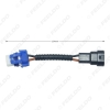 Picture of Car 9005 Ceramic Socket Heavy Duty Ceramic Wiring Harness Connector For Headlight Bulb Socket Wiring Adapter Holder
