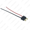 Picture of Car Headlight Cable  H7 Male Connector Plug Lamp Bulb Socket Automotive Wire Halogen Adapter Holder