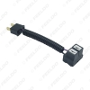 Picture of Car H7 Ceramic Socket Heavy Duty Ceramic Wiring Harness Connector For Headlight Bulb Socket Wire Plug Adapter