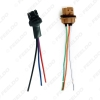 Picture of 2pcs/set Car LED Bulb Light 7443/7444/1891 Female & Male Socket Plug With 3-wire Extended Wire Connector