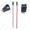 Picture of 1PC Car HID Bi-xenon Projector Lens High Low Motor Headlight Connecting Wiring Cable Male/Female Retrofit DIY Wire