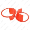 """Picture of 2pcs 6.5"""" Car Auido Horn Speaker Waterproof Cover Plastic Protective Horn Spacer Stereo Speaker Washer Cover"""