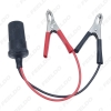 Picture of 12V Car Motorbike Tractor Boat Battery Terminal Clip-on Cigarette Lighter Power Socket Plug Cable Adaptor