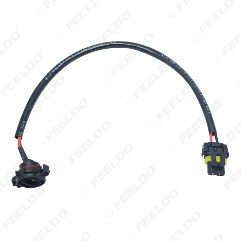 Picture of Car 12V 9006 To H16/5202 Plug Power Cable Wire Harness Extension Cable for HID Conversion Kit Ballast to Stock Cable