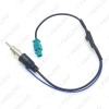 Picture of Auto Aftermarket Radio FM Antenna Installation Male Adapter for Volkswagen/Audi/BMW/Ford/Citroen/Chrysler Connector Wire Cable