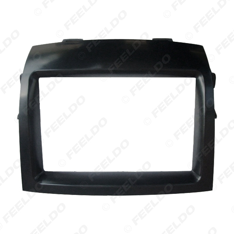 Picture of Car Radio Refitting Fascia Frame Adaptor For Toyota Sienna 2004-2010 Stereo 2DIN CD/DVD Panel Dash Frame Trim Kit