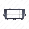 Picture of Car 2Din Stereo Fascia Frame Adapter For Toyota Prius (RHD) 2009+ Radio Plate Frame Dash Refitting Trim Kit