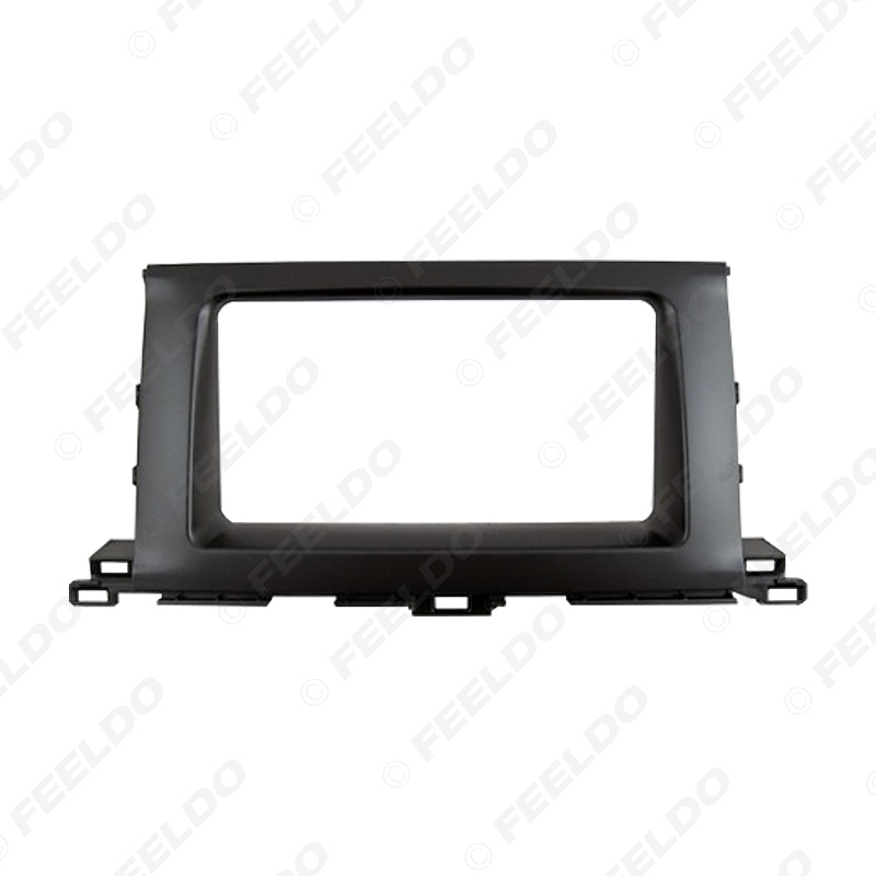 Picture of Car Radio Audio Fascia Panel Frame Adaptor For TOYOTA Highlander Kluger 2DIN Stereo Plate Dash Refitting Kit