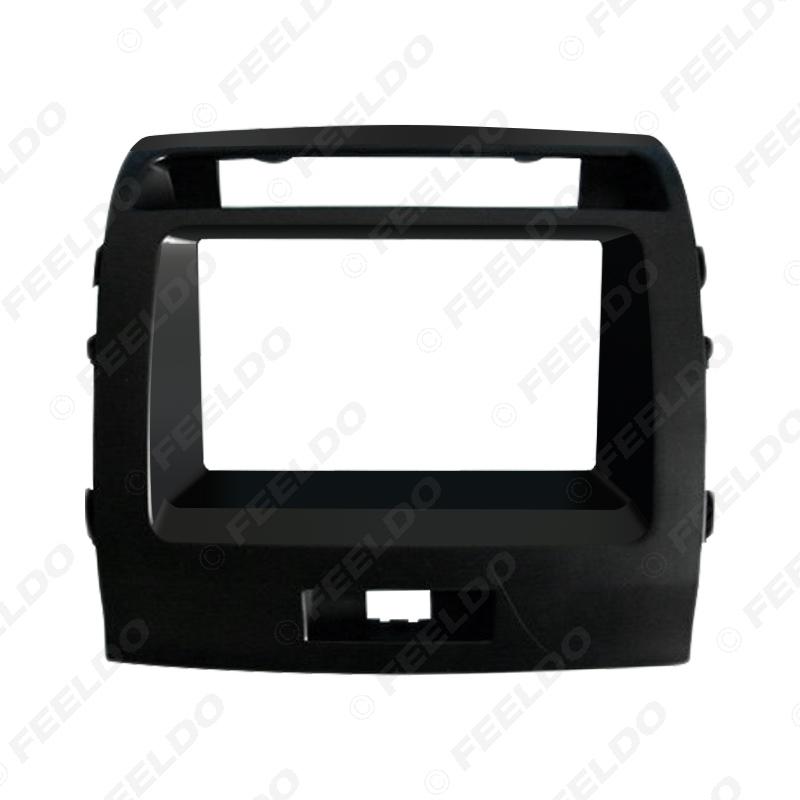 Picture of Car 2DIN CD/DVD Radio Refitting Fascia Frame Adapter For Land Cruiser 200 Stereo Panel Dash Frame Trim Kit