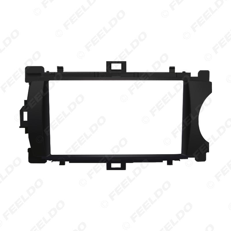 Picture of Car Audio 2DIN Fascia Frame Adaptor For TOYOTA Yaris (RHD) DVD Dashboard Panel Plate Frame Refitting Kit