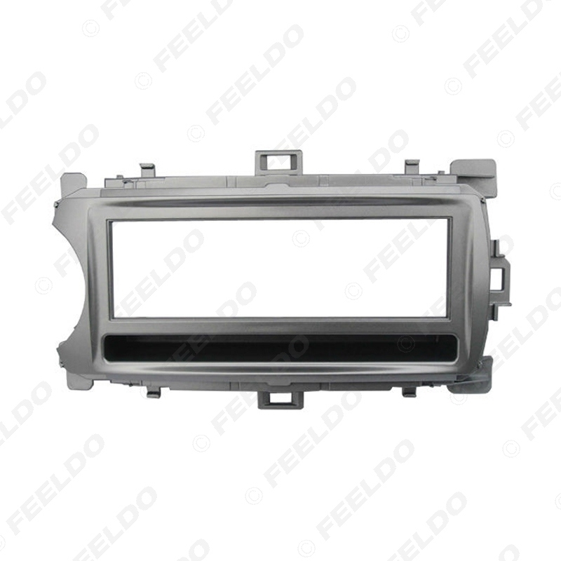 Picture of Car Stereo Radio Panel Fascia Frame Adapter For Toyota Yaris (XP130) 1-Din Dash Face Plate Refitting Trim Kit