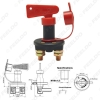 Picture of DC12V-24V Car Truck Boat Battery Power Kill Switch Vehicle Cut Off Disconnect Isolator with Removable Key