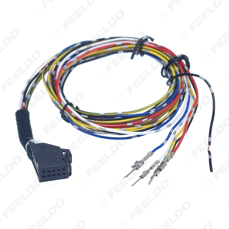 Picture of Car Cruise Control System GRA Harness Cable Parts# 1J1970011F For Volkswagen Jetta/Golf MK4/Passat/Skoda Superb/Seat Alhambra