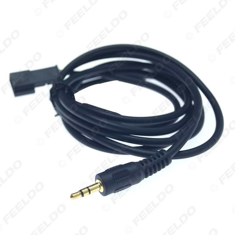 Picture of 3.5mm Male Connector To 3-Pin AUX Connector Wiring Harness For BMW E39/E46/E53 With Navigation System(SA 602/609)