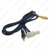 Picture of Car AUX-IN Socket Radio Audio Cable With Micphone for Toyota RAV4/Reiz/Highlander/Corolla/Levin AUX Wire Adapter
