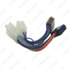 Picture of Car Stereo Audio Conversion Wire Plug Adapter For ISO to Toyota CD Radio Wiring Harness Original Head Units Cable