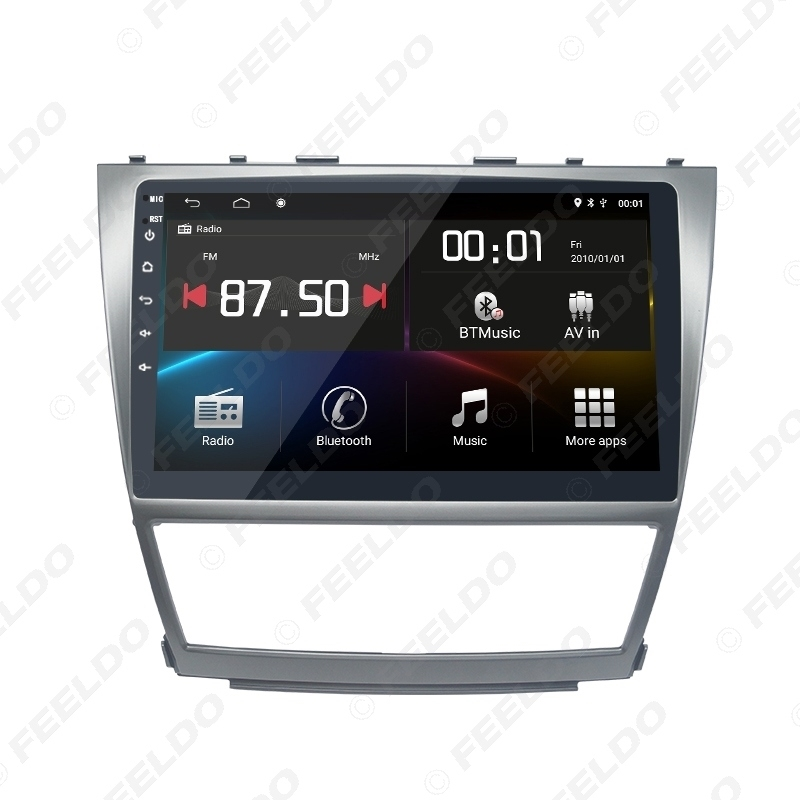 Picture of 10.1 inch Bigger HD Screen Android 8.1 Quad Core Car Media Player With GPS Navi Radio For Toyota Camry XV40 (2007–2011)/Daihatsu Altis