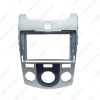 """Picture of Car 2Din Stereo 9"""" Big Screen CD/DVD Fascia Frame for KIA Forte Coupe 2009 Face Dash Mount Trim Kit"""