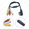 Picture of Car Media Music 3-RCA Female To MDI/AMI Interface AUX Cable For Audi Volkswagen Skoda Wire Aux Adapter