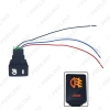 Picture of Car 12V Fog Light 5Pin Switch On-Off Button with Cable For Toyota Camry Corolla Work Light Switch Wire