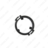 Picture of 2x Black Auto Speaker Spacers Mat for Audi Q5 Rear Door Tweeter Pads Reinforced Washer Mounting Kit