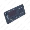 Picture of Car Bluetooth 5.0 Module Coloful Display USB MP3 Player TF Card FM Wireless Remote Decoding Board Module DC12V