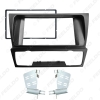 Picture of 2DIN Car Stereo Radio Panel Fascia Frame For BMW 3-Series (E90/91/E92/E93) 2004-2012 Refitting Dash DVD Player Fitting Frame Trim Kit