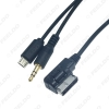 Picture of Car Audio Music AMI/MDI Interface To 3.5mm Male Micro USB AUX Cable For Mercedes Benz Wire Adapter