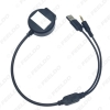 Picture of Car Wireless Bluetooth Module Receiver AUX 3.5 mm Jack & USB Music Adapter AUX Cable For BMW Mini Cooper Kit