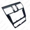 """Picture of Car Audio 2Din Dash Panel Fascia Frame Adaptor For Subaru Forester 9"""" CD/DVD Face Plate Frame Bezel Installaion Kit"""