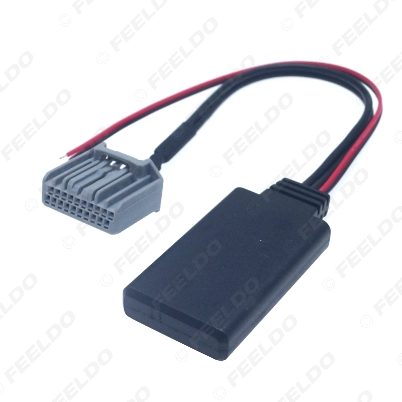 Picture of Car Wireless Bluetooth Module Music 20Pin AUX Adapter For Honda Civic CRV Accord Stereo Aux Audio Receiver Auxiliary Wire