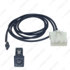 Picture of Automotive 32-Pin Aux-In Audio Cable Socket Interface Music AUX Adapter For Mazda 2 3 5 6 Mx5 Rx8 2 3 5 6 Cx-7 Cx-9