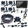 Picture of 7inch Truck Tractor Heavy-duty Machinery 4-Way AHD Ultra Low Illumination Night Vision Monitoring DVR Video System