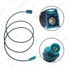 Picture of Car FAKRA Z Radio Signal Antenna AM/FM 1 Meter Wiring Adapter For Volkswagen/Skoda/Audi OEM Stereo Head Unit