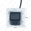 Picture of Auto Rear View Camera For Toyota Prado Original Camera Reserved Hole Reversing Backup Camera