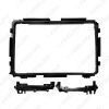 """Picture of Car 2Din Stereo Radio Fascia Frame Adapter For Honda XRV 14-17 9"""" DVD GPS Navigation Dash Face Panel Cover Trim Kit"""
