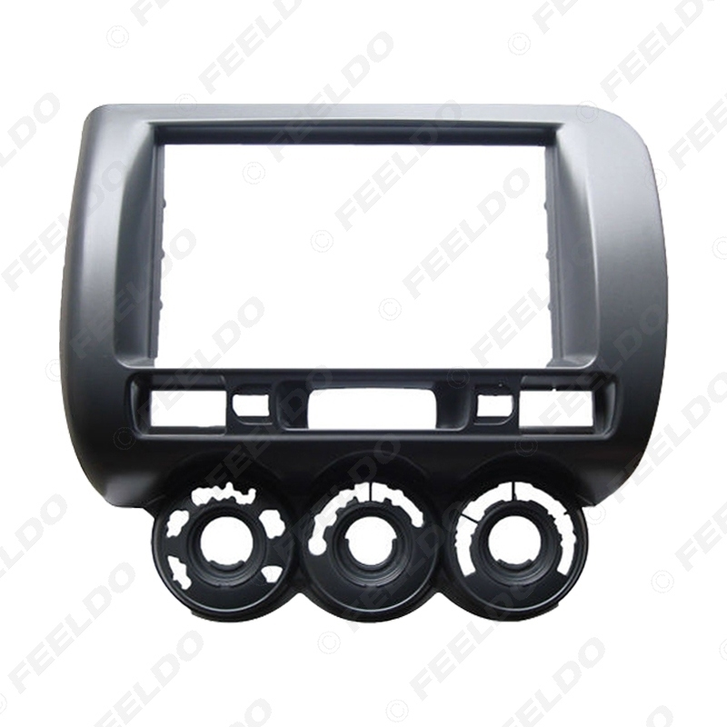 Picture of Car Audio Fascia Frame For HONDA Fit Jazz (RHD) Stereo 2Din DVD Radio Dash Mount Installation Face Frame Kit