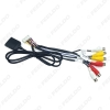 Picture of 20-pin Extended Interface RCA AUX-IN/OUT Cable With SIM Slot For Android Head Unit Stereo