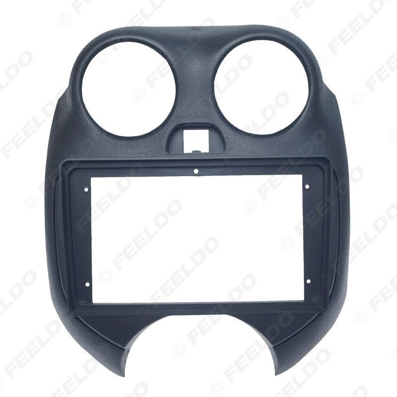 """Picture of Car Auido Radio 2Din Fascia Frame Adapter For Nissan March 9"""" Big Screen CD/DVD Dash Fitting Panel Frame Kit"""