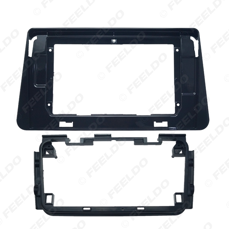 """Picture of Car Audio Fascia Frame Adapter For Nissan Kicks 17-20 10.1"""" Big Screen 2DIN DVD Player Fitting Panel Frame Kit"""
