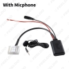 Picture of Car Aux-in Wireless Bluetooth Adapter Module Audio Receiver With Micphone for Subaru Outback Forester Host AUX Cable