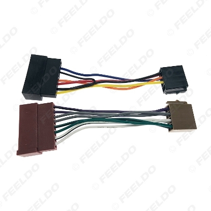 Picture of Car Audio Radio ISO Wiring Harness Adapter for Ford 85-05 Jaguar Lincoln Mercury ISO Standard Connector Wire