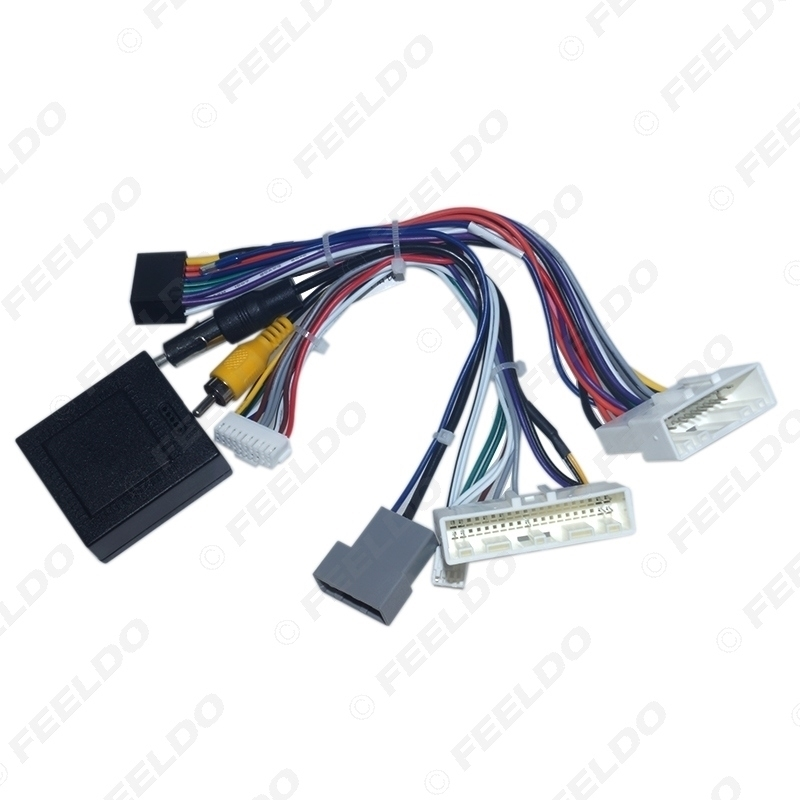 Picture of Car Audio 16PIN Android Power Cable Adapter With Canbus Box For Nissan Sylphy Tiida CD/DVD Player Wiring Harness