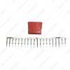 Picture of Auto Car Audio CD player Connector 20pcs Terminal Pins Socket for Volkswagen Audi Skoda CD/DVD DIY Plug Changer