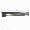 Picture of Car ISO 16Pin Harness Radio Wire Adapter for Pioneer AVH-100 AVH200BT CD Radop Wiring Connector Power Cable