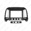 """Picture of Car Audio Stereo 2DIN Fascia Frame Adapter For Hyundai Santafe 9"""" Big Screen DVD Player Dash Fitting Panel Frame Kit"""