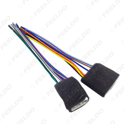 Picture of Car Radio Audio Wire Harness Aapter Plug for Geely Emgrand CD/DVD Stereo Speaker Cable